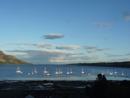 Lamlash Bay from Kinneil