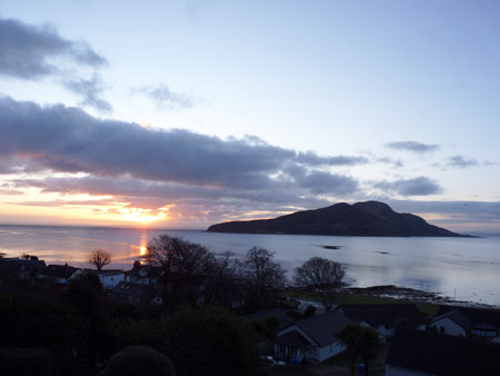Holy Isle from Kinneil